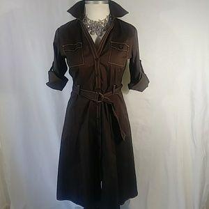 Ann Taylor dress size 12 Brown